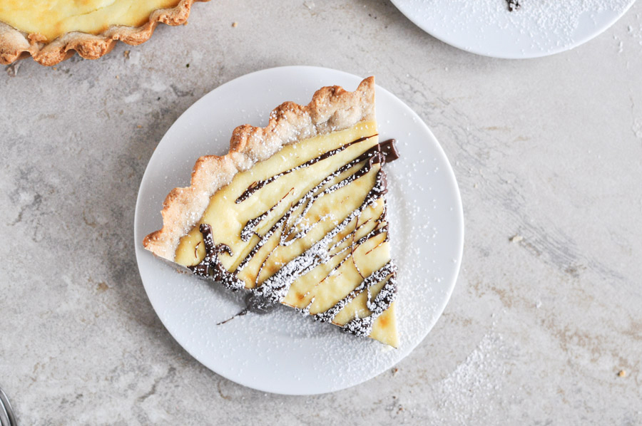 """<strong>Get the <a href=""""http://tastykitchen.com/blog/2012/12/cannoli-tart/"""" target=""""_blank"""">Cannoli Tart recipe</a> by How S"""