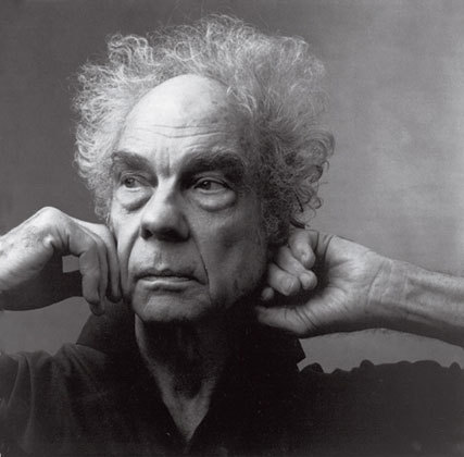 """Annie Leibovitz's portrait of Merce Cunningham shows him in a vulnurable way, as if he's lost within himself, almost reclusi"