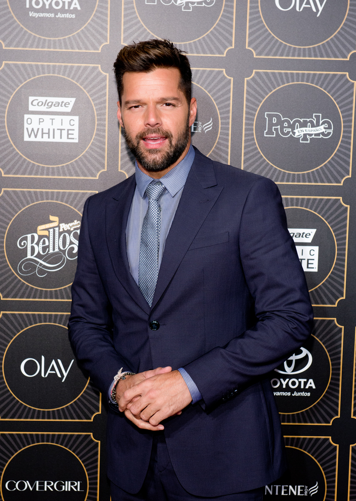 NEW YORK, NY - MAY 12:  Singer Ricky Martin attends People En Espanol 2014 Los 50 Mas Bellos Event on May 12, 2014 in New Yor