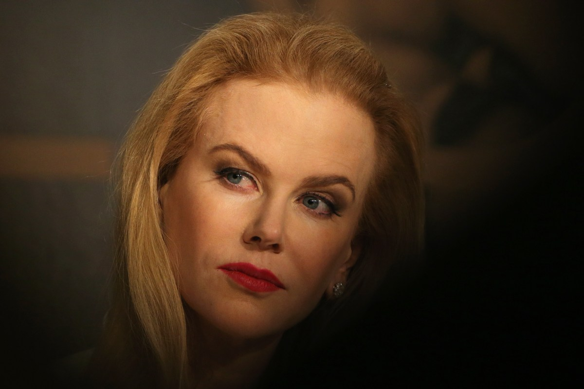 Australian actress Nicole Kidman attends the press conference for the film 'Grace of Monaco' at the 67th edition of the Canne