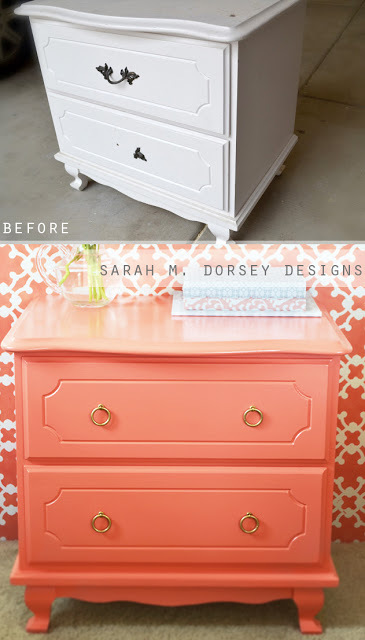 """Blogger and designer <a href=""""http://sarahmdorseydesigns.blogspot.com/"""" target=""""_blank"""">Sarah M. Dorsey</a> rescued this nigh"""