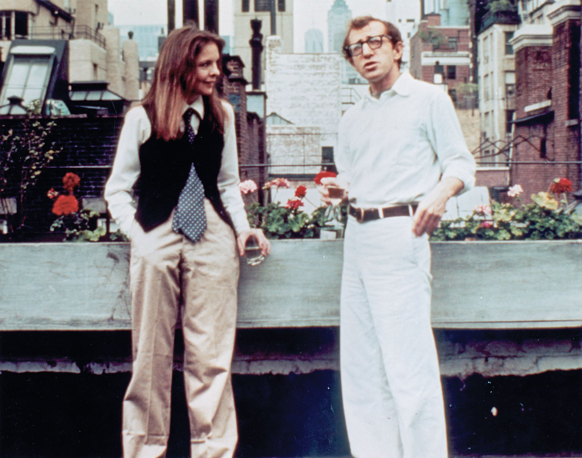 "<strong>""Play It Again, Sam"" (1972): </strong>Woody Allen almost passed Keaton over for this ""Casablanca"" sendup because she"