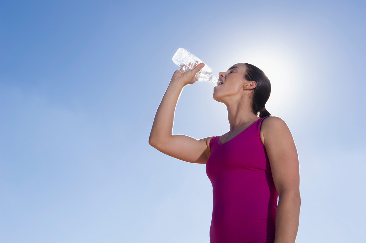 Try to drink half your body weight in ounces of water every day. It may not be exciting, but water is the best appetite suppr