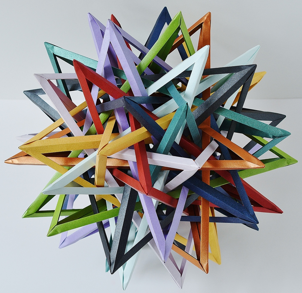 12 origami artworks that will expand your understanding of the art event horizon byriah loper jeuxipadfo Images