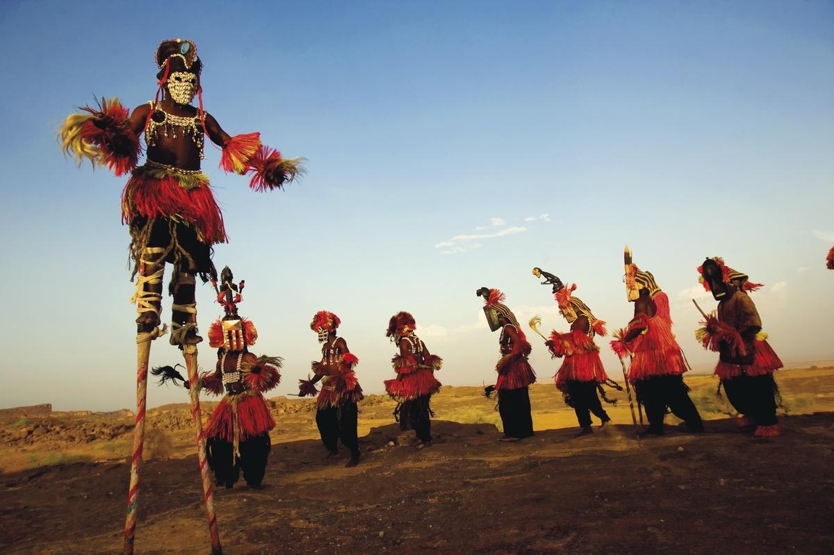 Aron Huey- Funeral dancing in Mali 2009