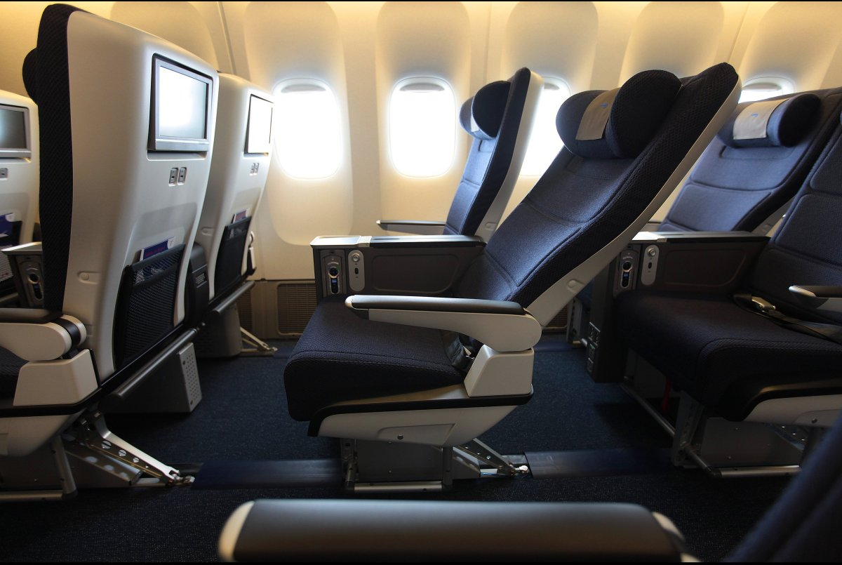Ba  Seat Map World Traveller Plus