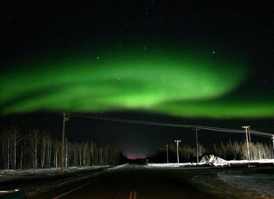 """Northern Lights and stars in Alaska  <strong>Why Go</strong>: Alaska's location within """"the zone"""" means you're almost guarant"""
