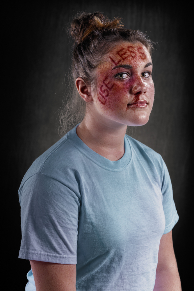 Powerful Images Show A World Where Verbal Abuse Leaves