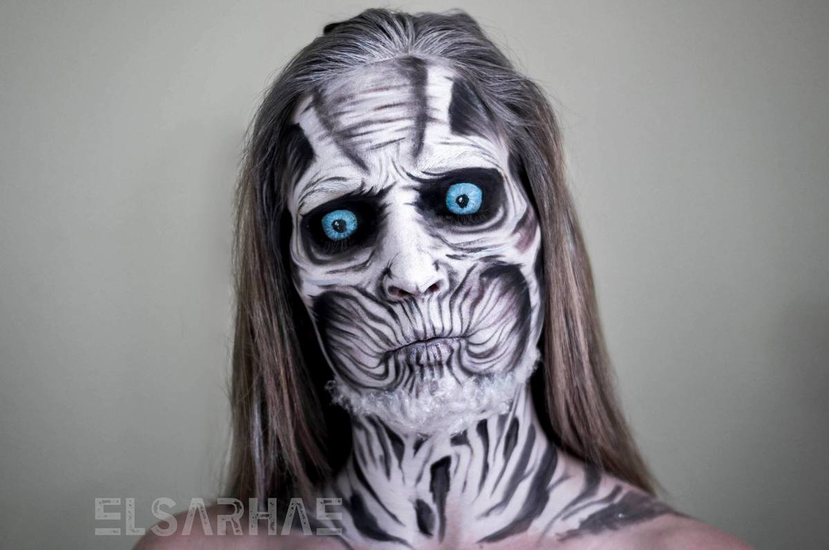 White Walker from Game of Thrones.