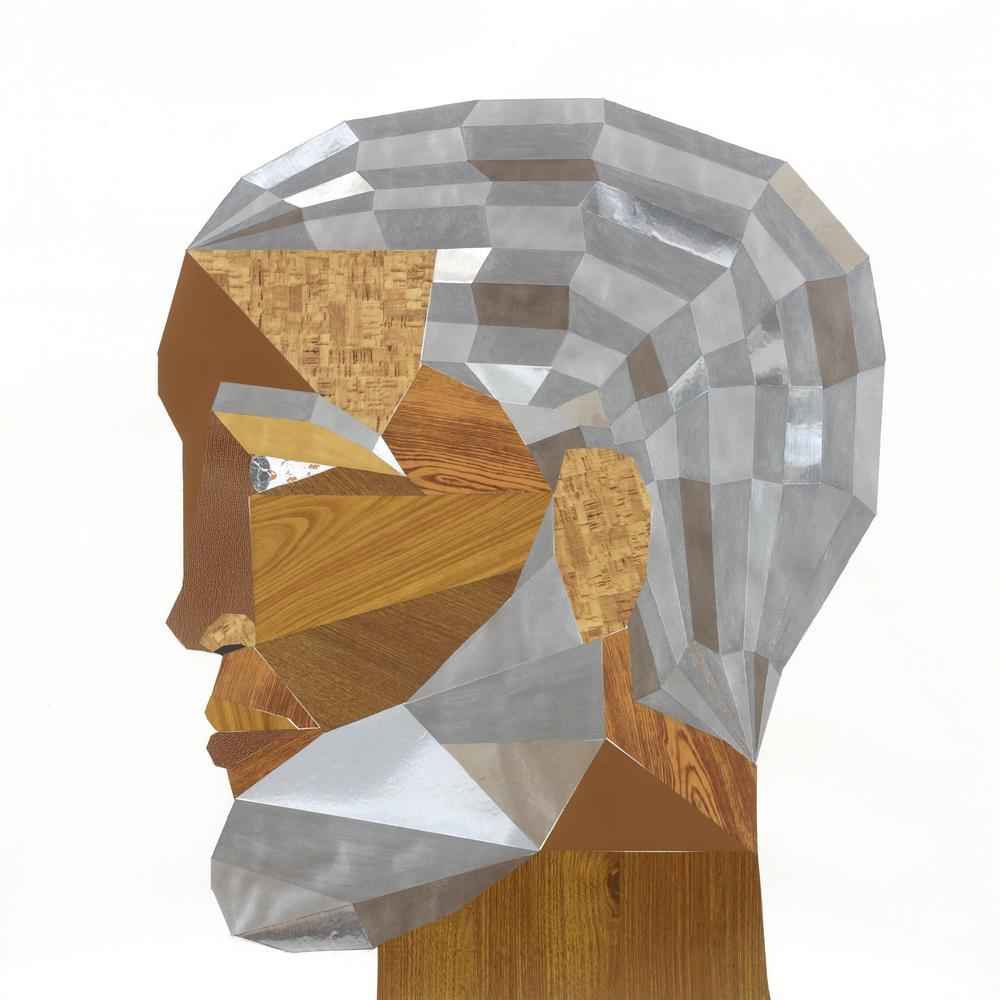 Derrick Adams, Head#13 (FloorPlan) 2012