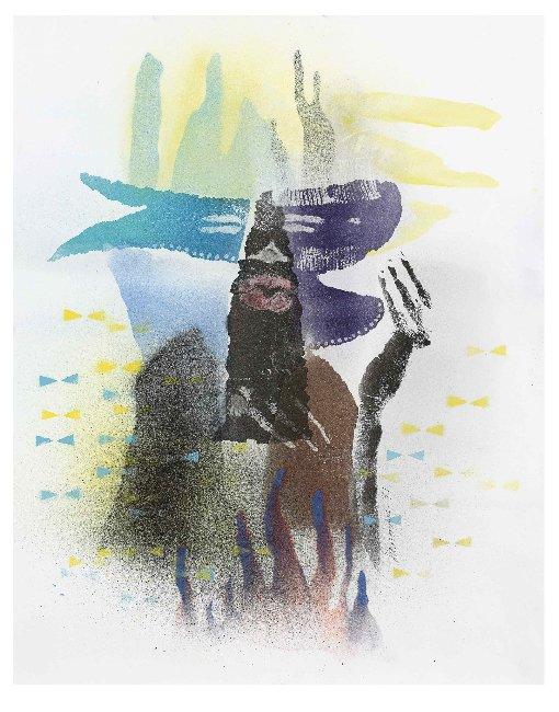 David Hammons, Body Print