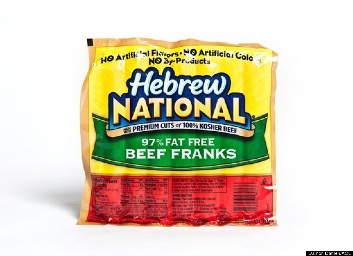 Hot Dog Calories Hebrew National