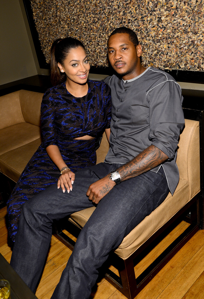 Obviously La La Anothony and her husband Carmelo Anthony would be on the guest list.