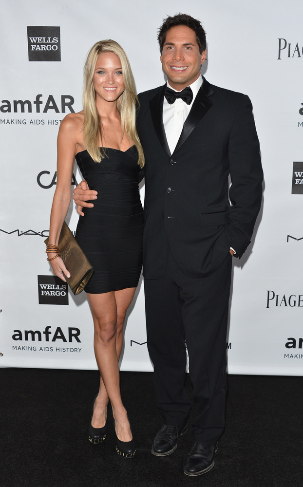 """Girls Gone Wild"" founder Joe Francis and his girlfriend Abbey Wilson are reportedly worthy of the guest list."