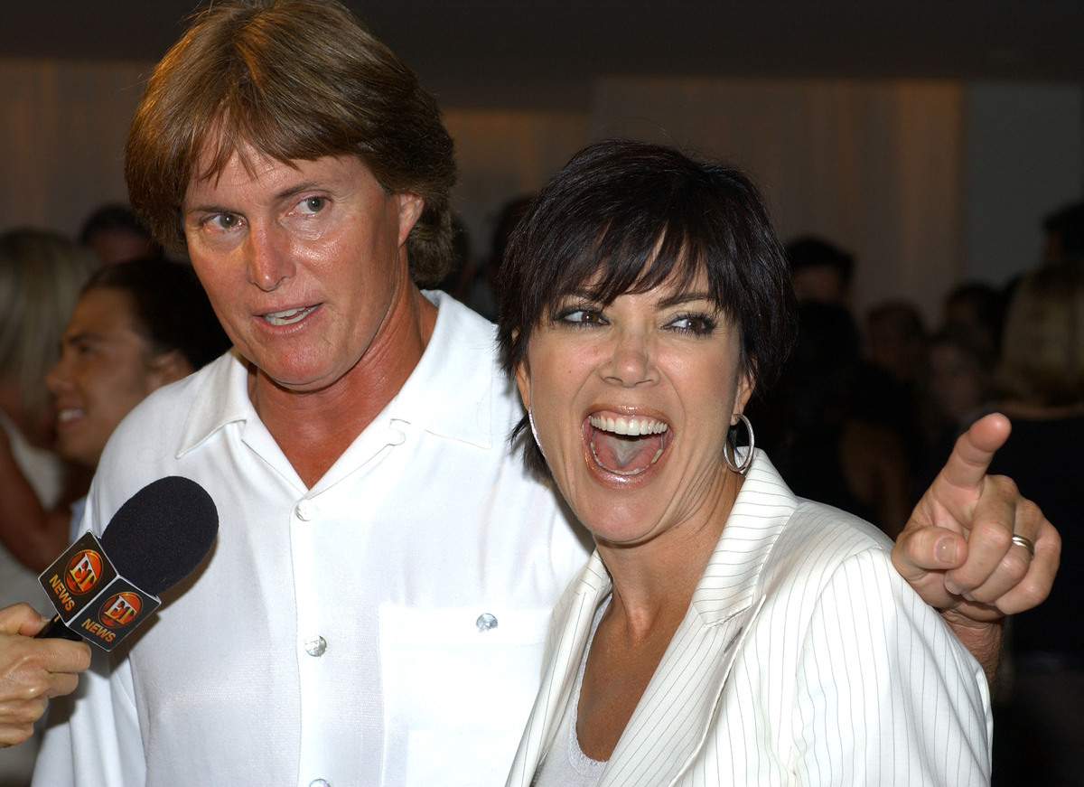 Kris Jenner wouldn't miss Kim's third wedding for the world, and despite not being invited to Kim and Kanye's surprise engage