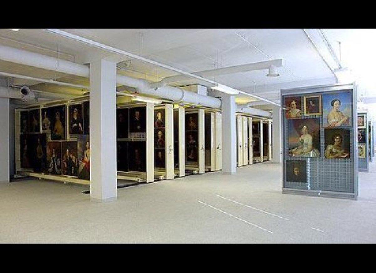 St. Petersburg. The storage rooms of the Hermitage