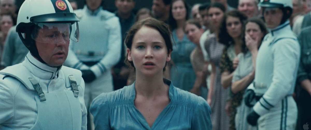Why it made the list: Probably one of the most memorable moments of the franchise so far, the scene in which Katniss voluntee