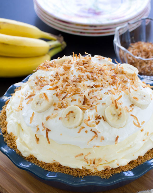 "<strong>Get the <a href=""http://www.aspicyperspective.com/2013/03/banana-cream-pie-recipe.html"" target=""_blank"">Banana Cream"