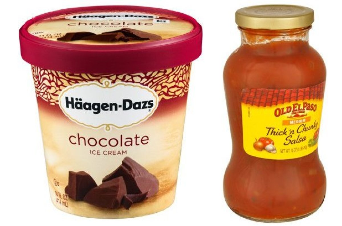 Oddly enough, General Mills owns both Old El Paso, that Thursday taco night staple, and Häagen-Dazs, that Saturday night alon