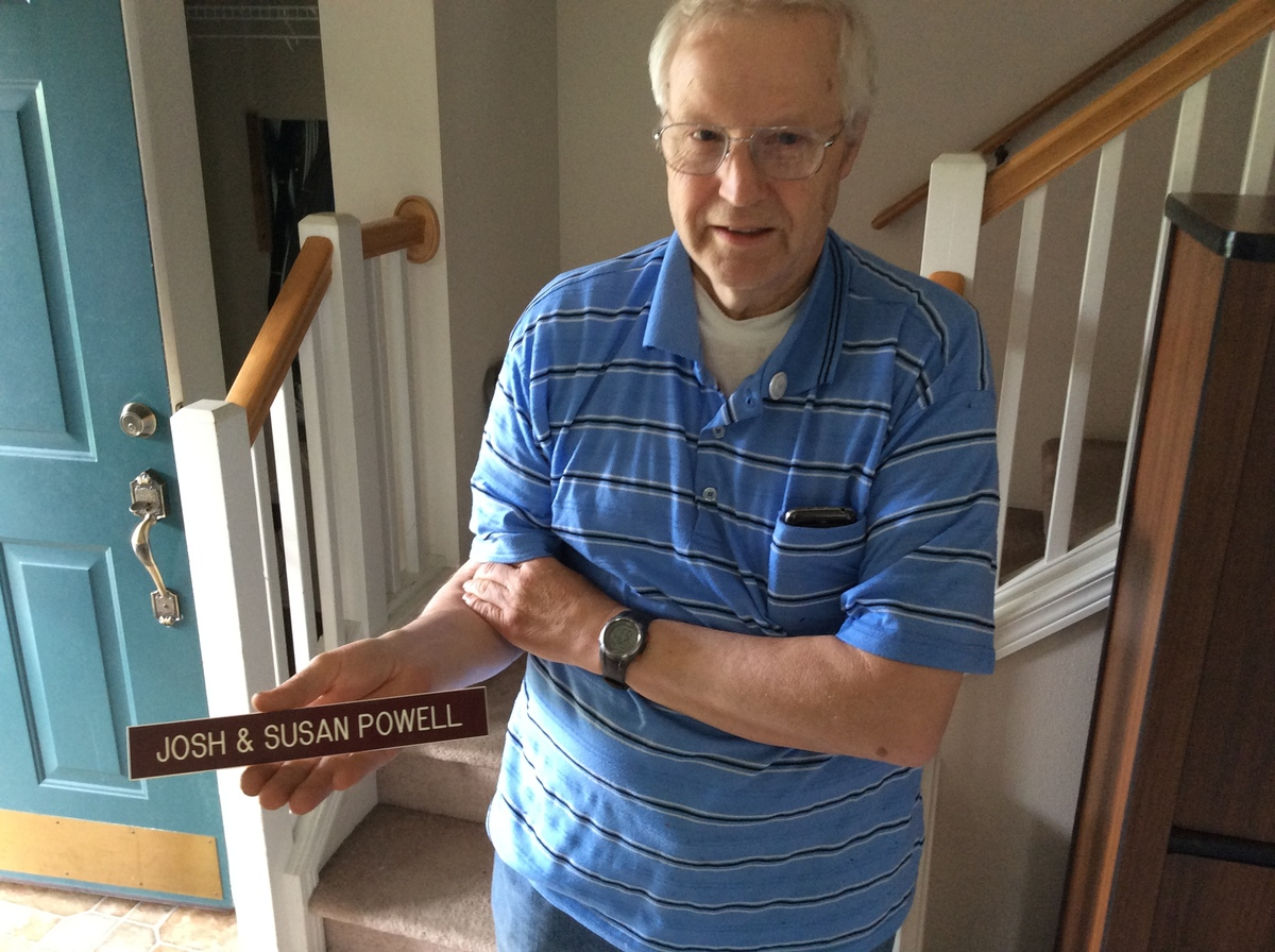 Susan Powell's father, Chuck Cox, has been busy searching a home that once belonged to his daughter's father-in-law, Steven P