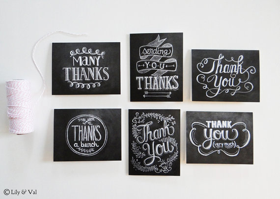 We seem to be in a new golden age of stationery. Instead of cheesy stock thank you cards, you can now get beautifully-designe