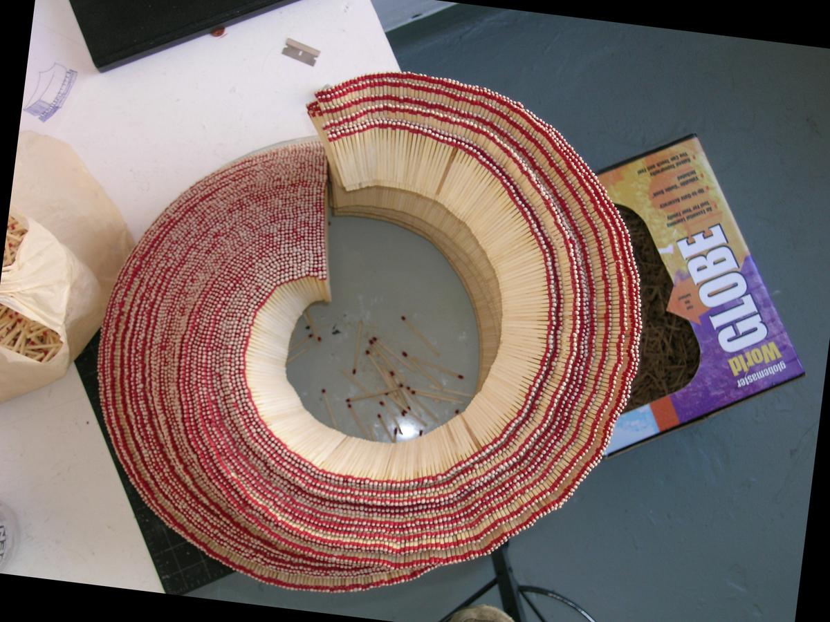 The Matchstick Spiral