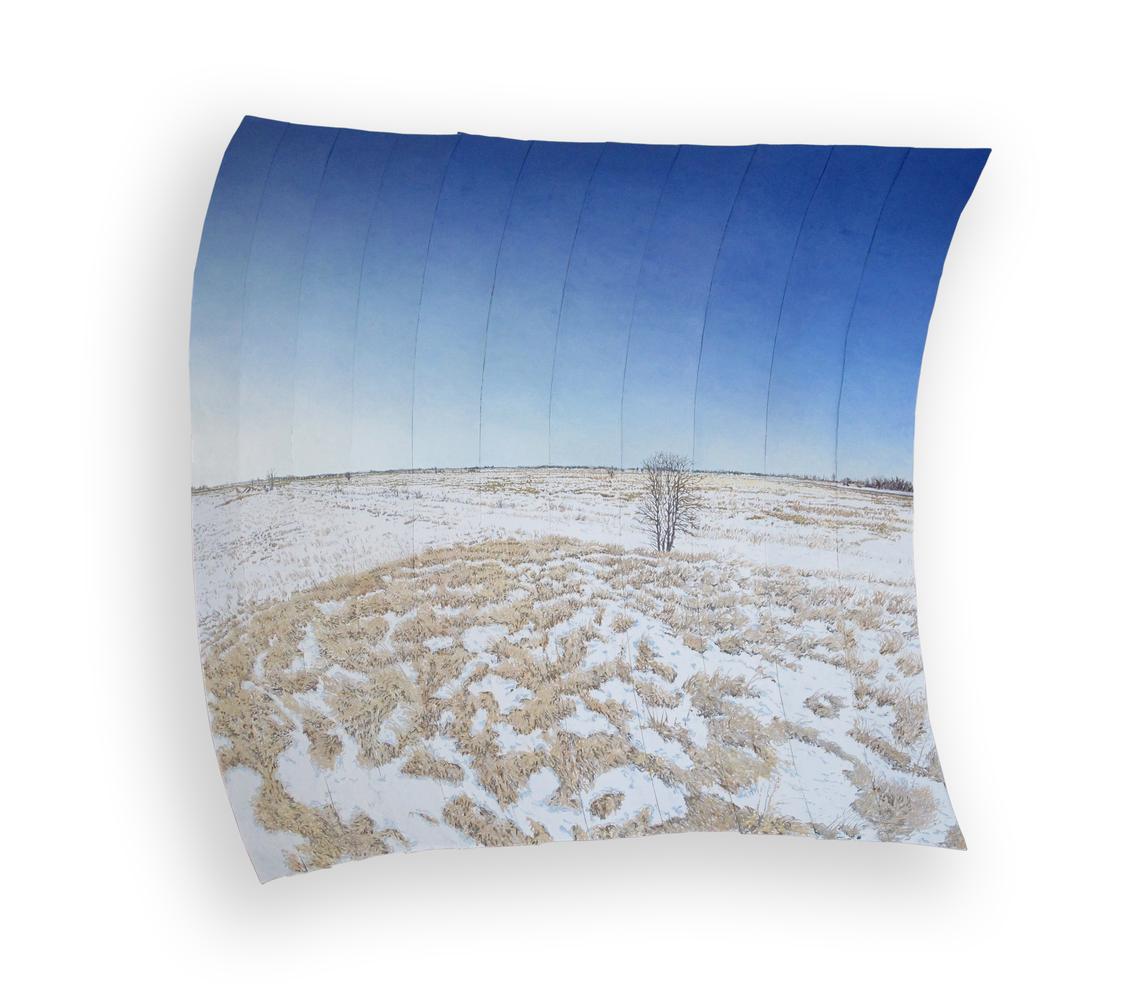 Kelly's Slough, North Dakota Early Spring (Snow Melting)