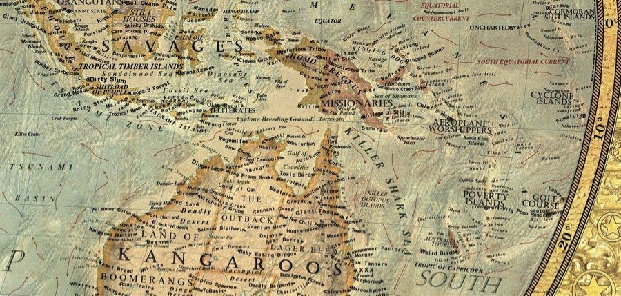 Pacific Islands and Australia