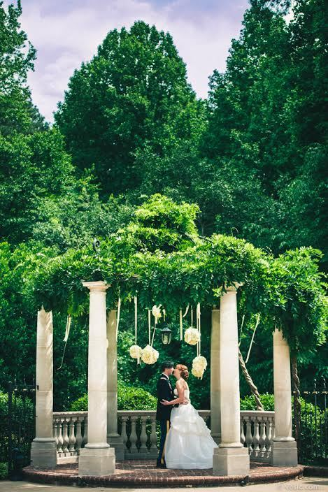 """Maddy and Josh see each other for the first time yesterday for their Memorial Day wedding in Cary, NC."""