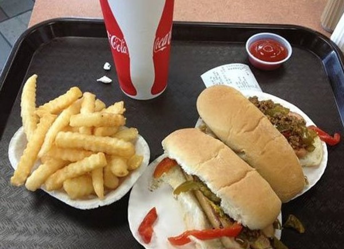 A Rochester, N.Y., institution, folks come for the nostalgia and stay for the timeless fries, hamburgers, and hot dogs. It op