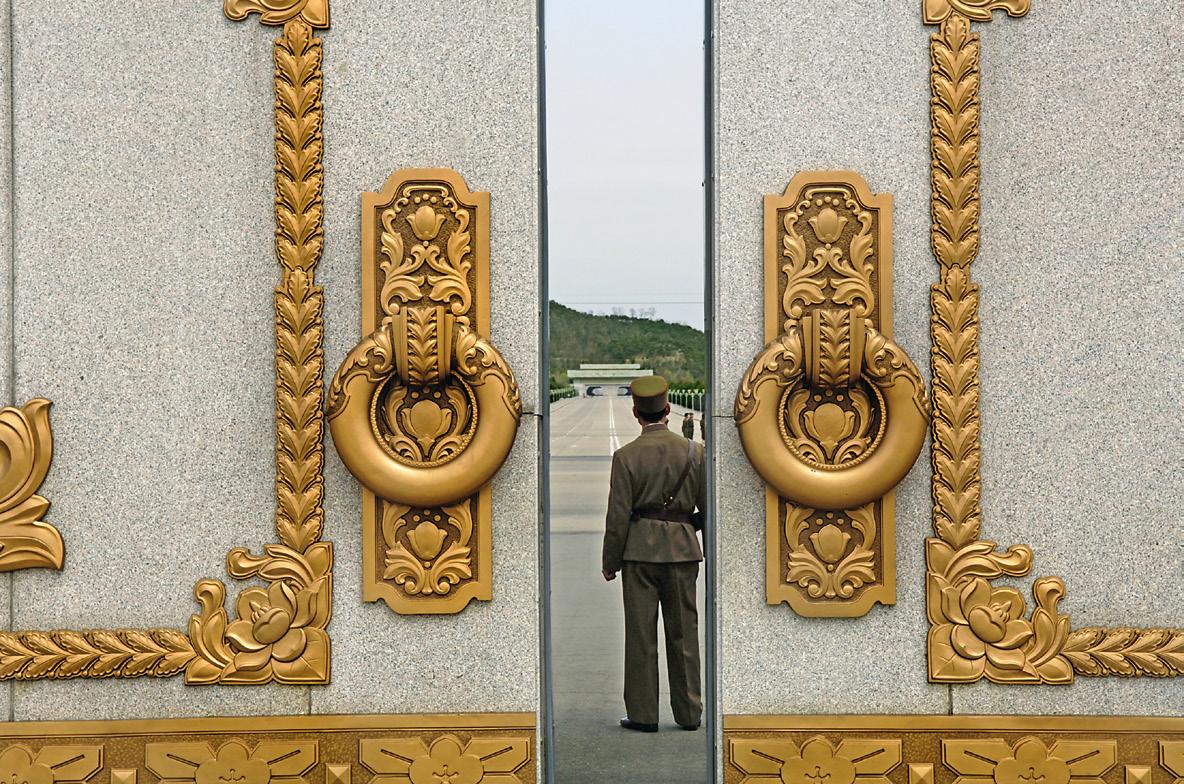 Geumsusan Palace and Kim Il Sung Mausoleum.