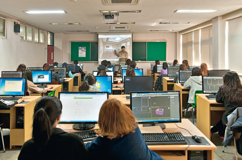 Architecture lecture at Daelim University.