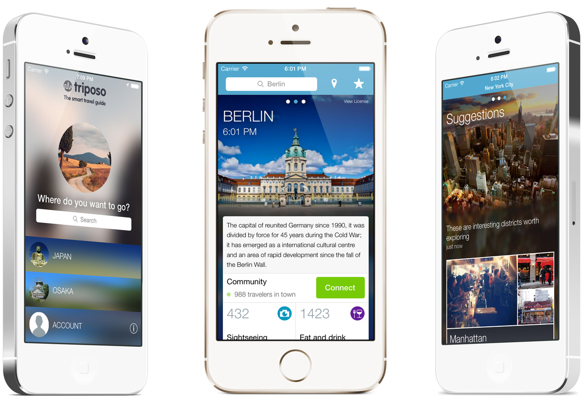With over 200 countries and 25,000+ destinations at your fingertips, Triposo is a comprehensive travel guide that helps you s