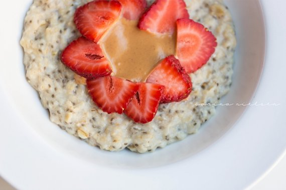 "<strong>28 grams of protein</strong><br><a href=""http://corinanielsen.com/livefit/?p=413"" target=""_blank"">Get the recipe from"