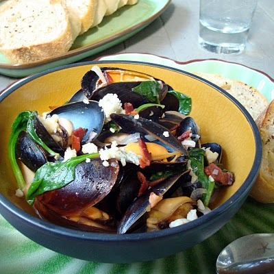 """<strong>Get the <a href=""""http://www.aspicyperspective.com/2010/05/are-you-ready-for-throwdown.html"""" target=""""_blank"""">Moules Fr"""