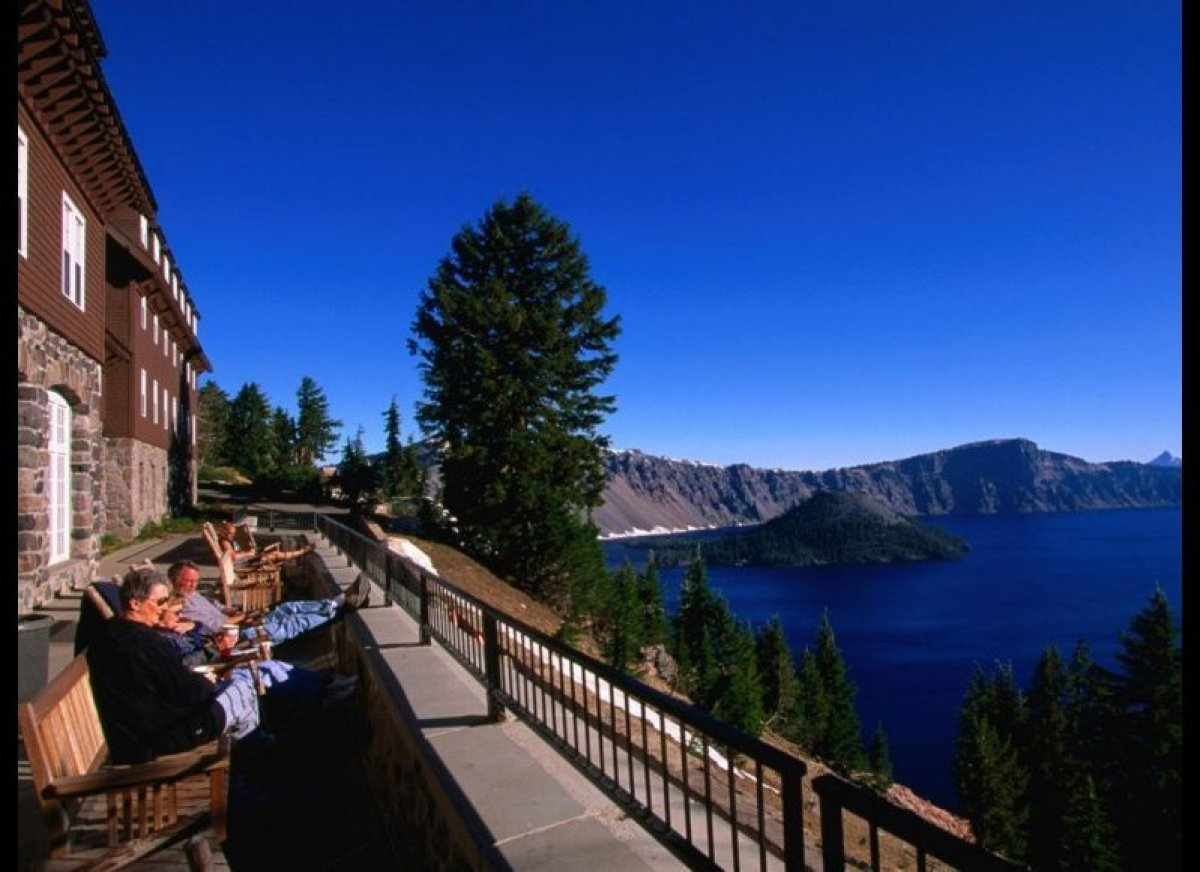 Crater Lake Lodge National Park Or As The Only Accommodation Within This Hotel Offers Unparalleled Views Of