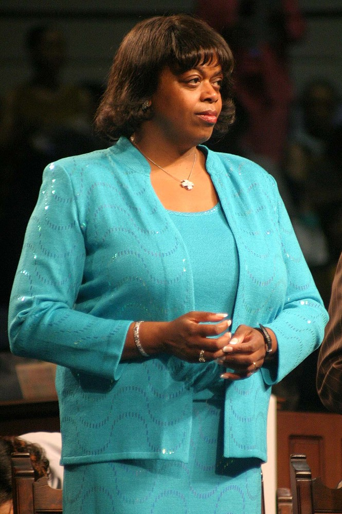 Dr. Suzan Johnson-Cook (Dr. Sujay) was the first woman to be elected president of the Ministers' Conference in 2002.