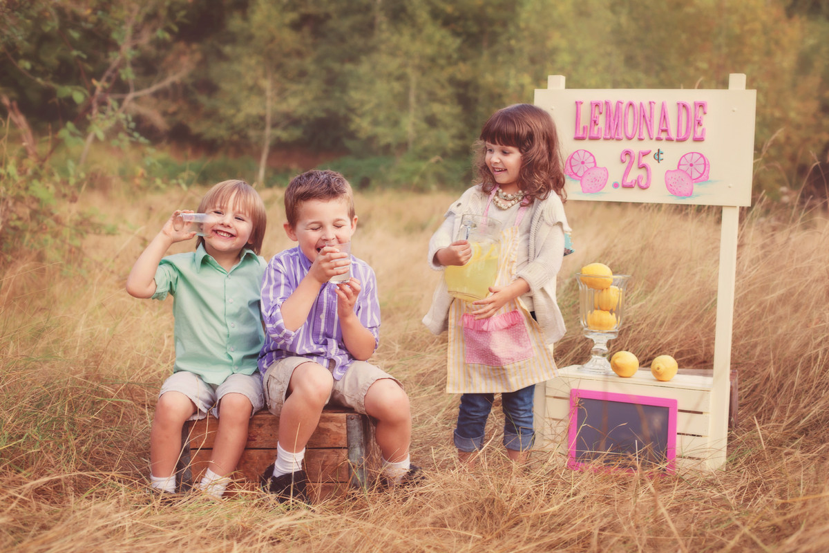 These kids are ADORABLE, but their lemonade stand is in the middle of a field. For brick-and-mortar businesses, picking a hig