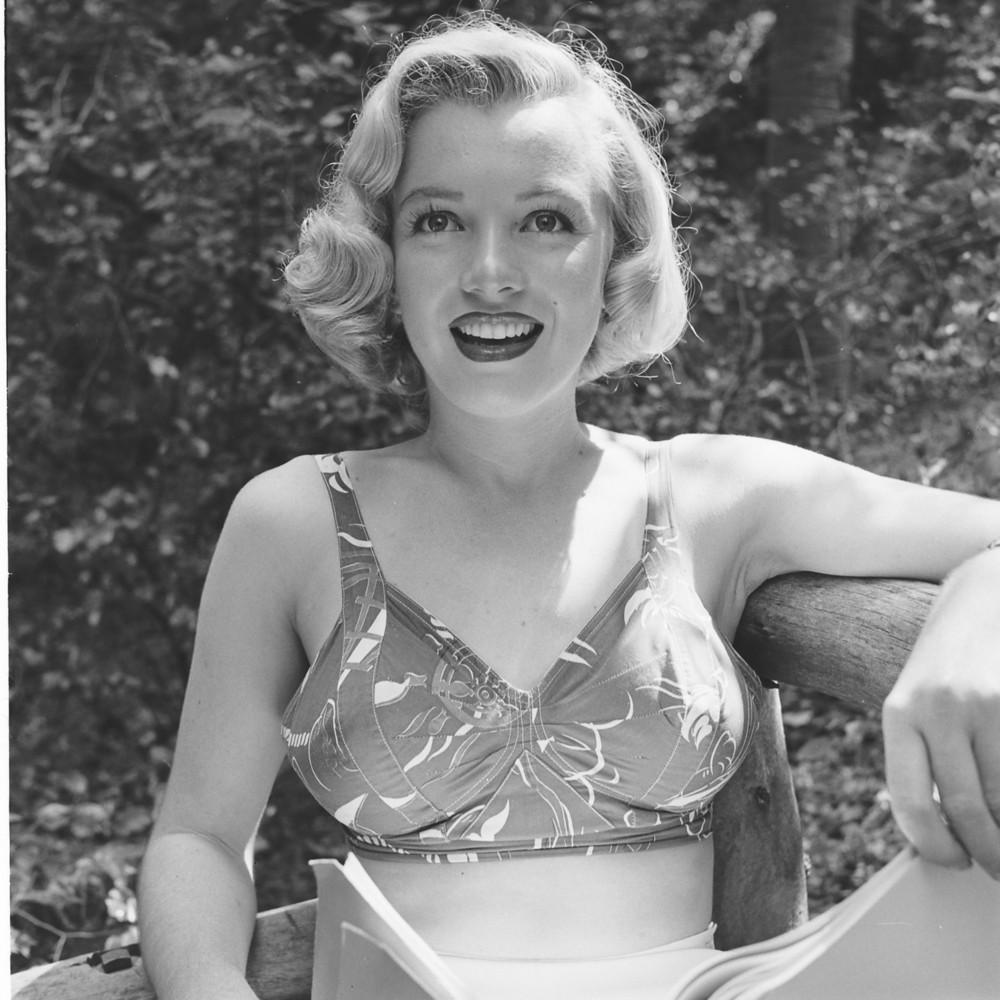 A portrait taken in California, 1950.