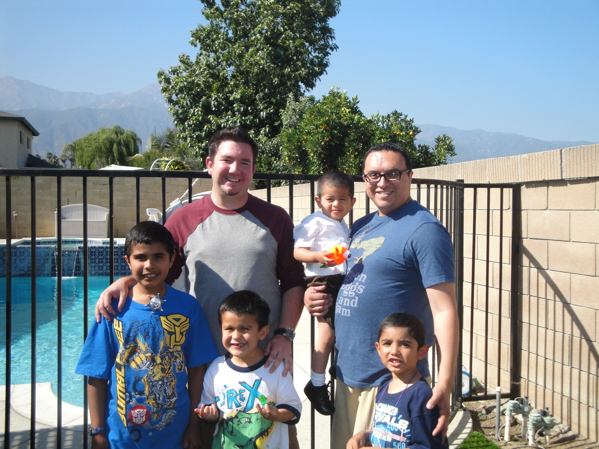 First Father's Day in 2011