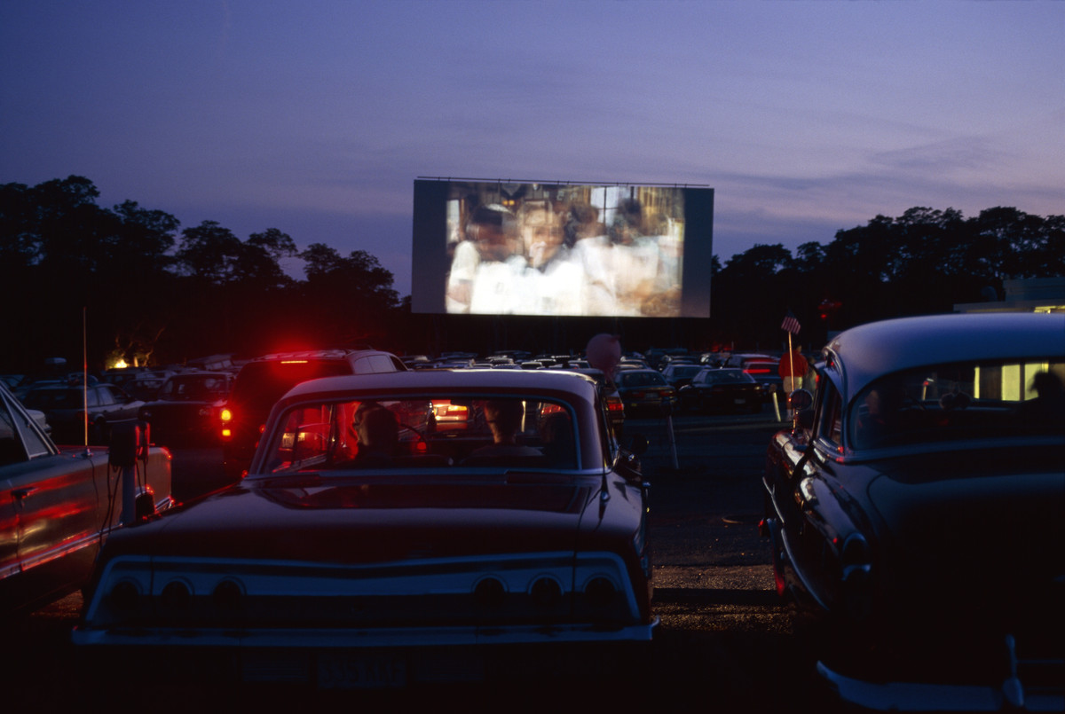 Drive in movie pictures
