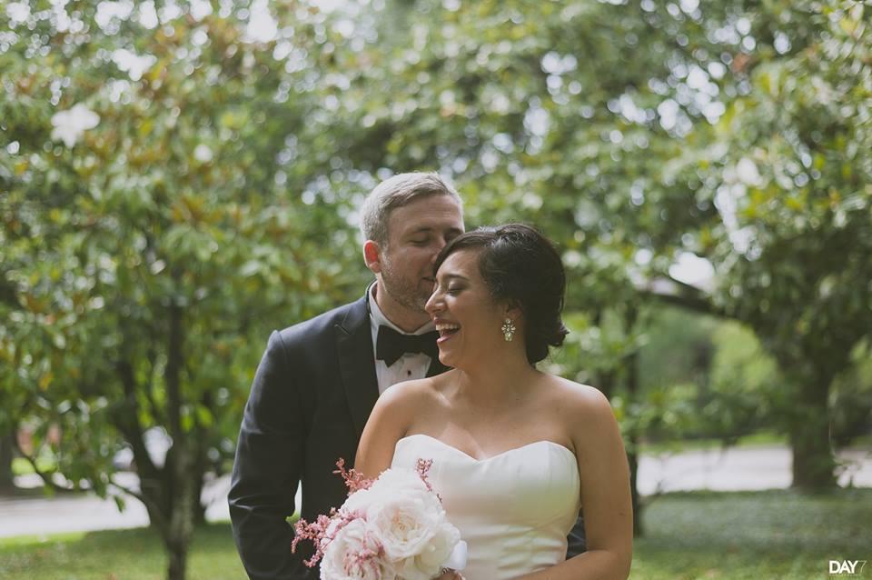 """""""Marcelina Guerrero married Stuart Brown in Houston, Texas."""" - P Guerrero"""