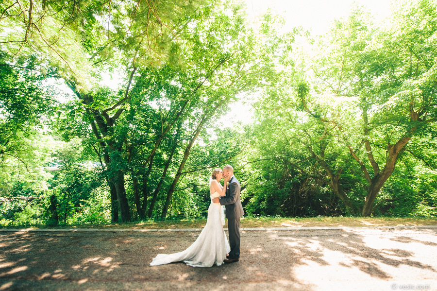 """""""Jill and David seeing each other for the first time in Winston-Salem, NC. Their wedding was at Hanover Vineyard."""" - Hooman B"""