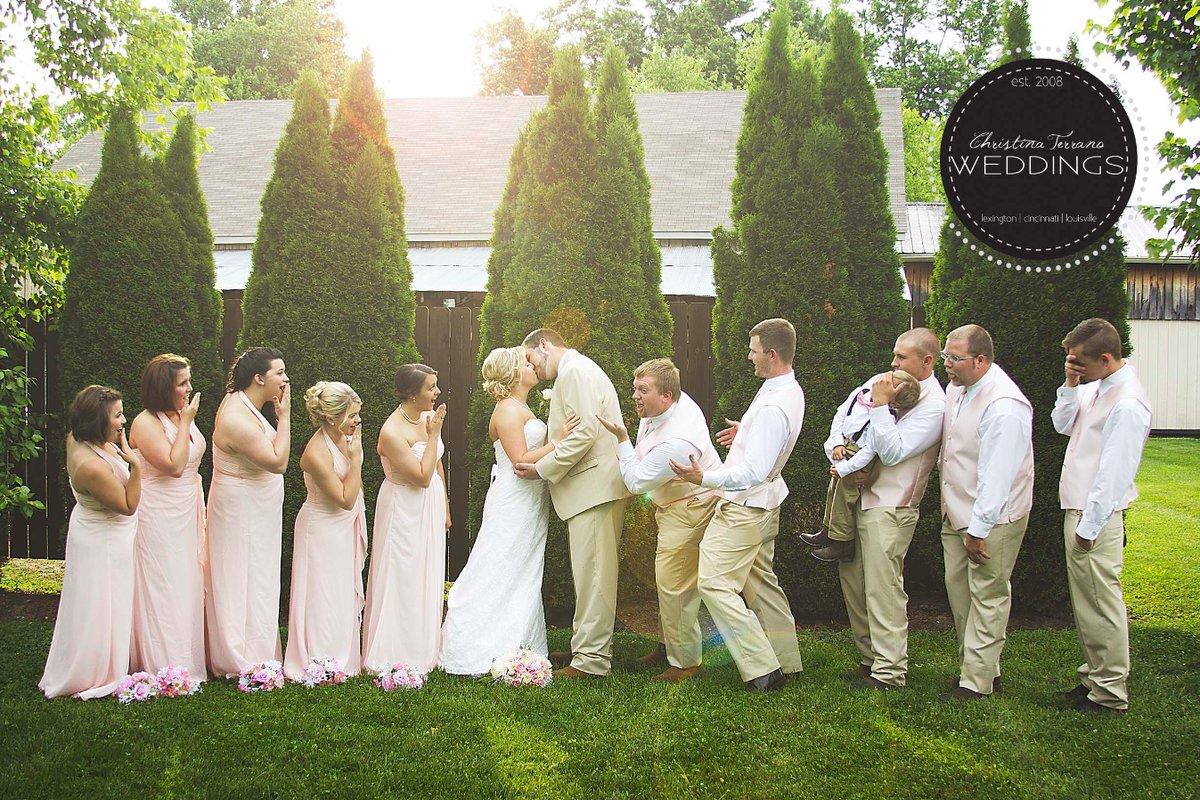 """""""A beautiful wedding at Equus Run Vineyards."""" - Christina Terrano"""