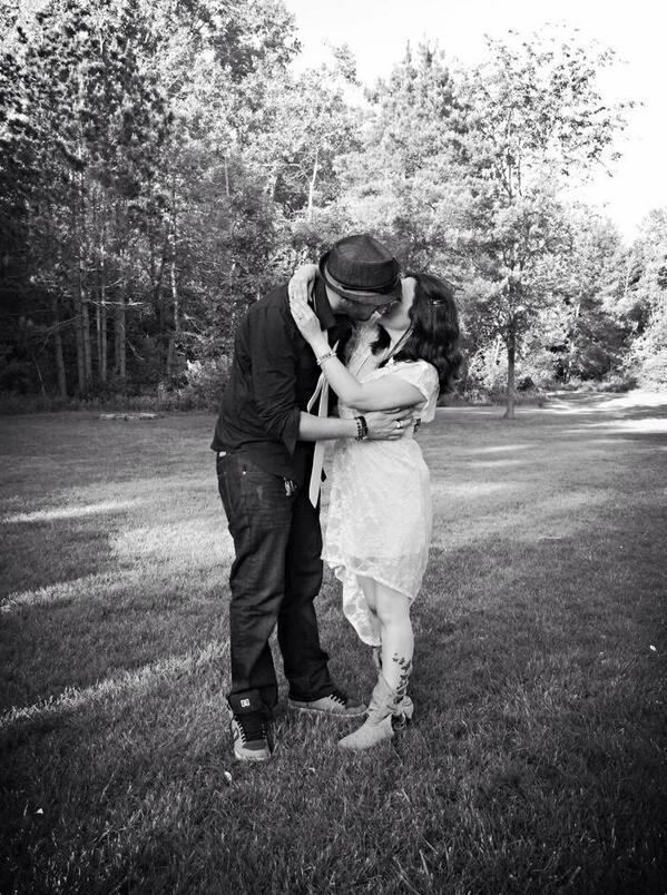 """My best friend got married this weekend!"" - @duck_duck_puck"