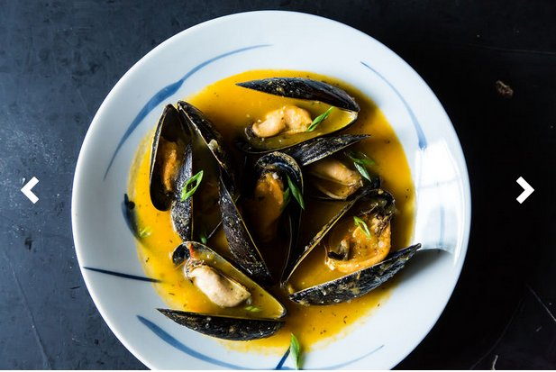 """<strong>Get the <a href=""""http://food52.com/recipes/19077-mussels-in-a-yellow-tomato-lemongrass-broth"""" target=""""_blank"""">Mussels"""