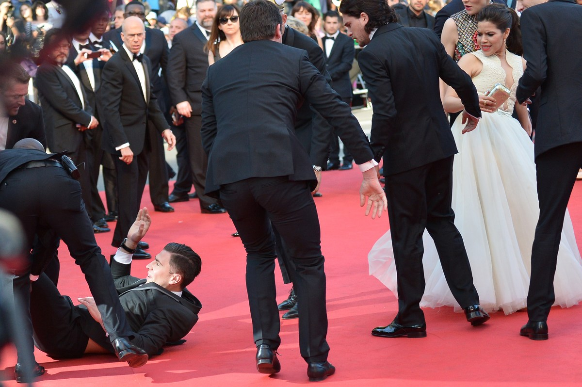 In 2012, Will Smith slapped Ukrainian journalist Vitalii Sediuk after he tried to kiss Jada Pinkett on a red carpet. This yea