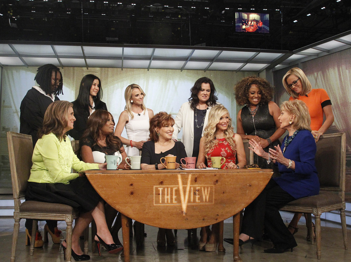 Days ago, I was insisting everyone but Whoopi Goldberg be fired from the a.m. talkfest. Telepathy works. Sherri Shepherd and