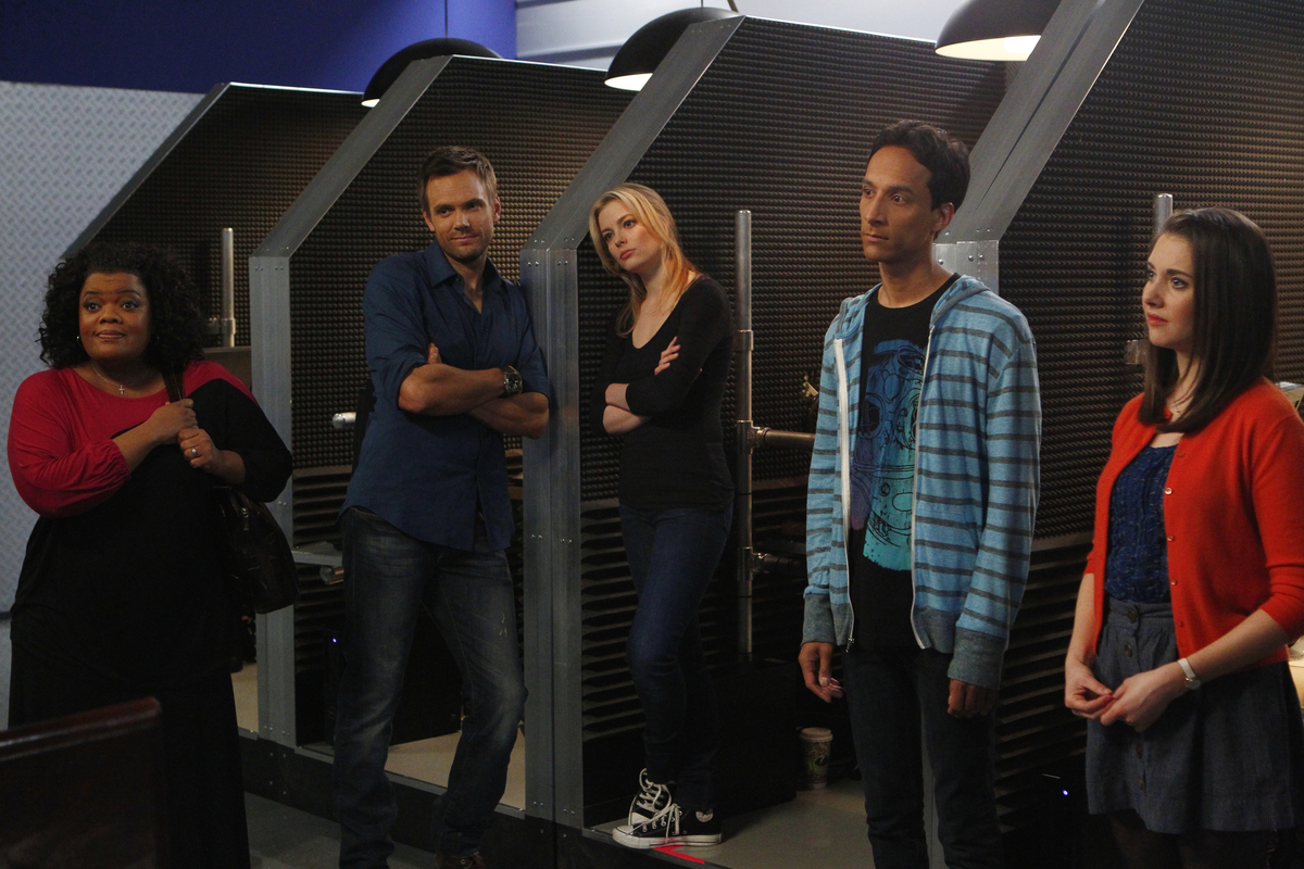 """At last, """"Community"""" hit its stride and seemed like it might avoid the cancellation threats that beleaguered the comedy year"""