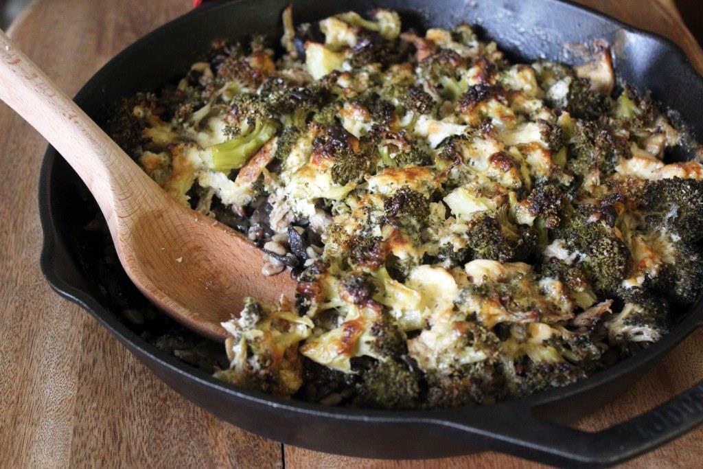 "<a href=""http://funnyloveblog.com/2014/06/04/light-broccoli-cheddar-rice-casserole/"" target=""_blank"">Get the recipe from Funn"